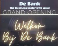 """Opening """"de Bank"""""""