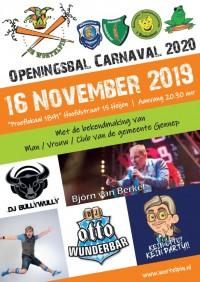 Openingsbal Carnaval seizoen 2019 / 2020