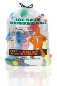 Inzameling PMD (plastic, metaal en drankenkarton